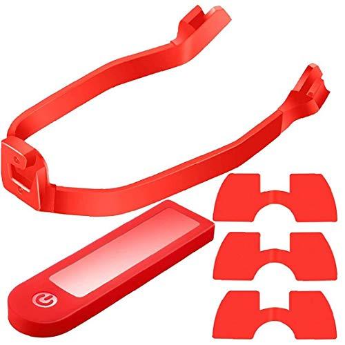Scooter Kotflügel hinten, elektrische Kickscooter Rücklicht FendersRear Schutz Scrroter Ersatz Supplies Red