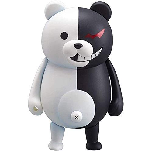 LIQIN Danganronpa Monokuma Nendoroide Anime ACCIÓN Figura PVC Modelo de Juguete Adornos de Juguete Recogidos Sorpresas Regalos 10 cm Pop Figuras