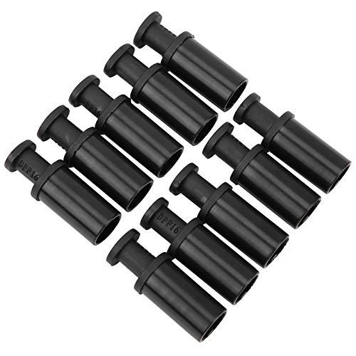 16 mm ändplugg tillbehör 50st pneumatisk kompositpluggkontakt Kompakt utseende för enkel identifiering