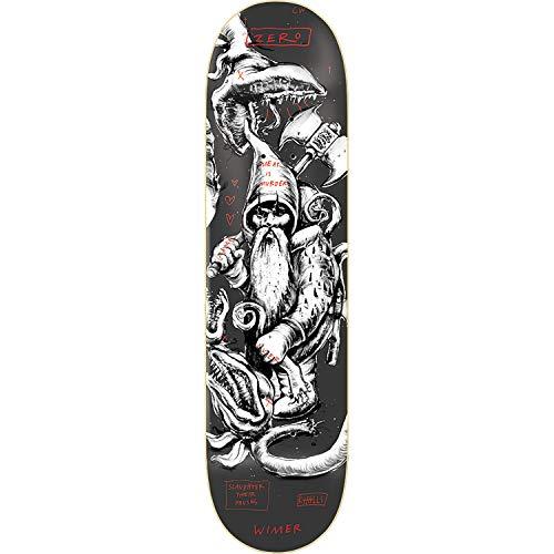 Zero Skateboards Chris Wimer Gnarly Gnomes Skateboard-Brett/Deck, 20,32 x 80,9 cm