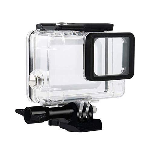 Flycoo Wasserdichte Schutzhülle für GoPro Hero 7 Black/Hero 5 / Hero 6 Action-Kamera mit Befestigungsschrauben und Unterwasserschutz 45 m
