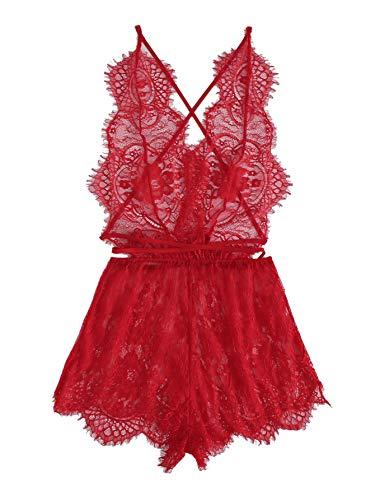 MakeMeChic Women's Lingerie Sleepwear