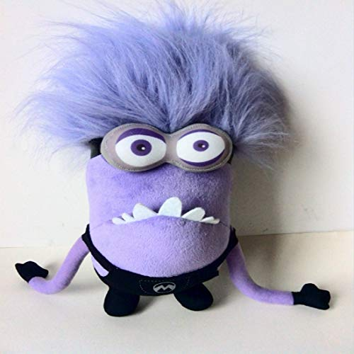 Juguete de Peluche 45cm Purple GRU, Mi Villano Favorito Purple Dad Minions Peluches Purple Minion Toy Regalo De Cumpleaños