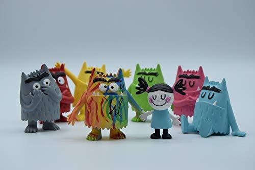 Monstruo de Colores Figuras DE PVC