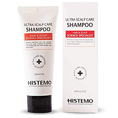 Ultra Scalp Care Shampoo | DHT Blocking Hair Restoration Shampoo | Promotes Hair Growth with Biotin | Thinning Hair, Prevent Hair Loss | for Men and Women with Oily Scalp, Colored Treated Hair | Reduce Itchy Scalp, Dandruff by Histemo