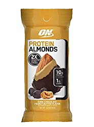 Optimum Nutrition Protein Almonds Snacks, On The Go Nutrition, Flavor: Chocolate Peanut Butter, Low