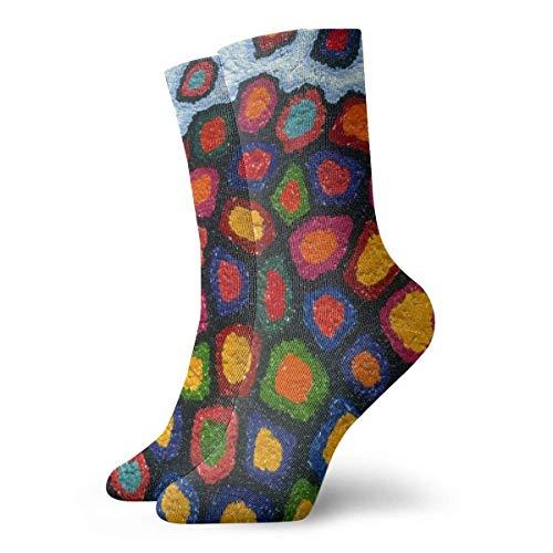 NA Herren-Socken, bunt, Kunststein-Wand, lustige Polyester-Socken