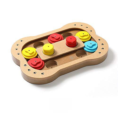 SDSYW Huisdier Hond Educatieve Speelgoed Bone Paw Print Type Nieuwe Houten Spelen Feeding Multi-functie Huisdier Speelgoed