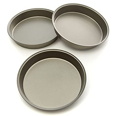 Mainstays 3 Pack Round Cake Pan Set