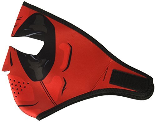 Fox Outdoor ZANheadgear WNFM109 Neoprene Full Face Mask, Red Dawn