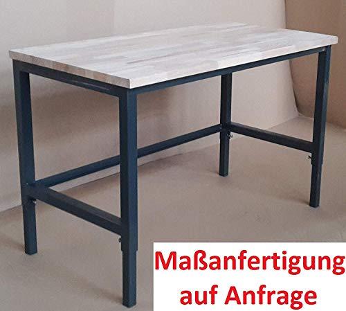 Werkbank Werktisch Werkstatttisch Arbeitstisch günstig Platte komplett stabil Werkbank komplett fertig - keine Montage/stabil
