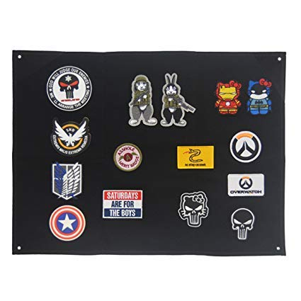Schnappy Tactical Military Combat Morale Patch Holder Display Board...