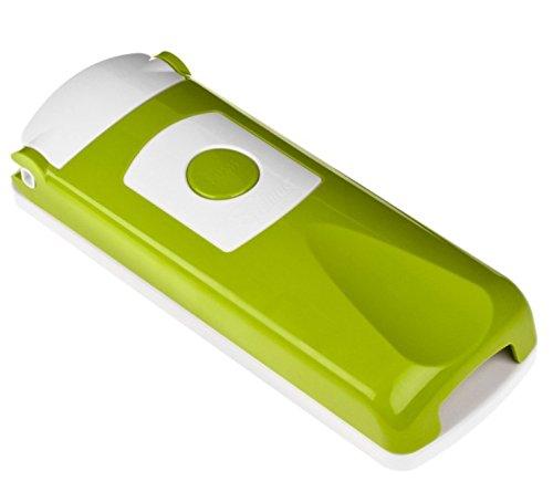 Genius Neu Ersatzteile Nicer Dicer Plus: Grund-Deckel - Hobeleinsatz - Messereinsätze - Sparschäler - Behälter - Deckel (Grunddeckel, Kiwi)