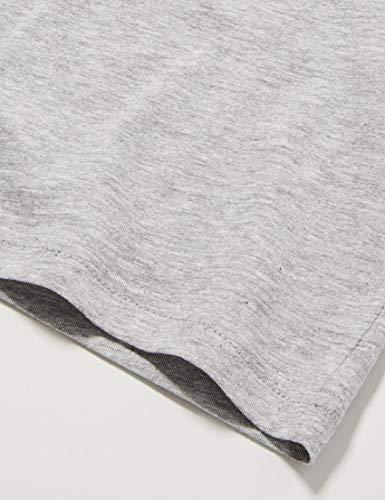 Champion Girls' Boys' Seasonal Small Logo T-Shirt, Grey (Em006), M