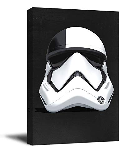 Star Wars Canvas Prints Wall Art 20' x 30' Print Framed Action Adventure Cyborg Darth Wall Art Prints Chic Office Art, Stretched and Ready to Hang