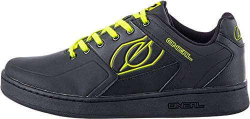 O'Neal Pinned Flat Pedal Fahrrad Schuhe Sneaker MTB BMX DH FR All Mountain Bike Downhill Sport, 322, Farbe Gelb, Größe 36 - 3