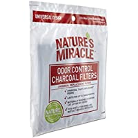 2-Pack Natures Miracle Odor Control Universal Charcoal Filter