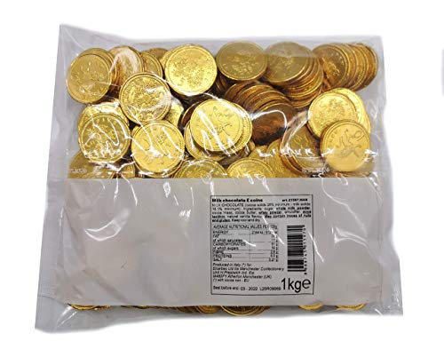 Milk Chocolate Coins - 1kg Bag