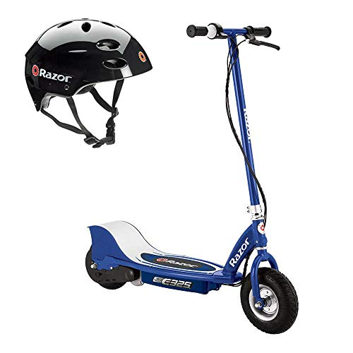 Razor E325 with Variable Speed Acceleration and Black Helmet Included