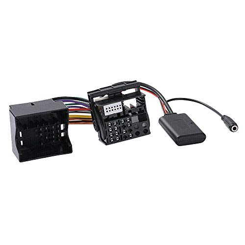 Wivarra Cable Adaptador AUX para Coche + Mic Apto para 307308407 RD4 Radio CD