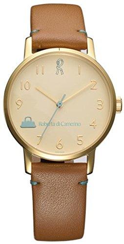 [ロベルタ・ディ・カメリーノ] 腕時計 RC7865-91BR ベージュ