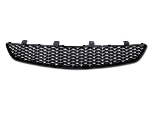 R&L Racing Black Finished JDM T-R Mesh Front Hood Bumper Grill Grille 2002-2005 Compatible with Honda Civic Si EP3 3 Door Hatchback