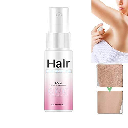 Spray D'inhibiteur De Cheveux D'épilation 20ml, Inhibe La Croissance Des Cheveux, Spray D'épilation Indolore Pour Femmes Hommes, Non Irritant
