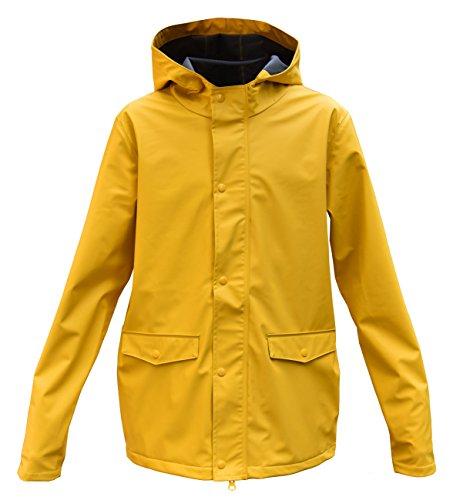 modAS Kinder Regenjacke, Farbe:gelb, Größe:134/140