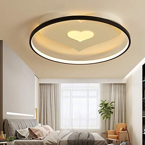 GGJIN focos de techo Mando a distancia regulable luz de techo de la personalidad LED de...
