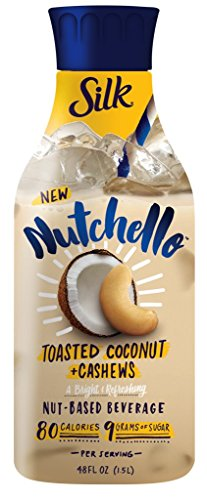 Silk Nutchello Toasted Coconut + Cashews Nut-Based Beverage, 48 Fl. Oz.
