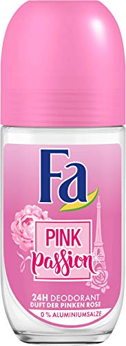 FA Deodorant Roll-on Pink Passion Duft der Pinken Rose 50 ml