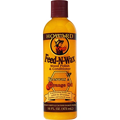 Howard Products FW0016 Wood Polish & Conditioner