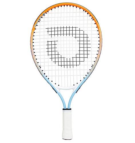 "Geelife Junior Tennis Racquet Carbon Tennis Racket for Beginner Youth Kids Girls Boys (4 3/8 "" Rainbow 19 inch)"