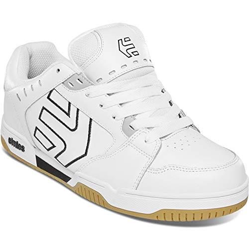 Etnies Men's Faze Low Top Sneaker Shoes White/Black/Gum 11