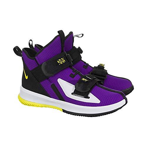 Nike Men's Hyperdunk X Low Team Basketball Shoe (11, Court Purple/Black/White)