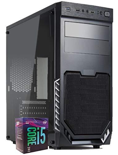 PC Desktop Intel Six Core i5 10400 Up 4,30 GHZ/Intel UHD Vga - Dvi-d - Hdmi/Ram 16GB Ddr4/ Ssd M.2 NVMe 240GB/ Wi-Fi Usb 3.0 / Licenza Windows 10 Pro Esd/Computer Assemblato Per Ufficio Casa Completo