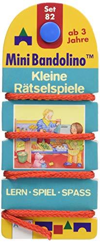 Mini Bandolino / Kleine Rätselspiele: Mini-Bandolino Set 82