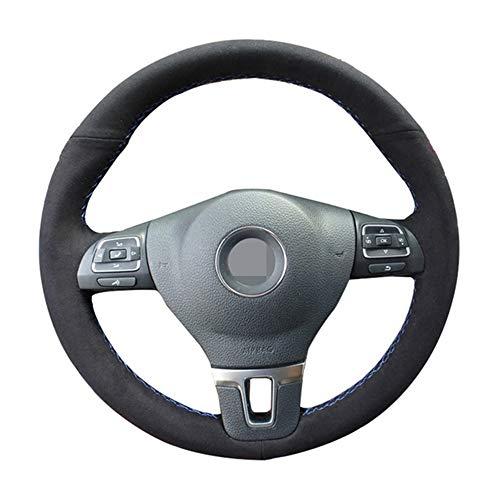 ZYTB Für Gkmhir Schwarz Auto Lenkradbezug Lenkrad Für Volkswagen Golf 6 Mk6 VW Polo Sagitar Bora Santana Jetta Mk6,Beige