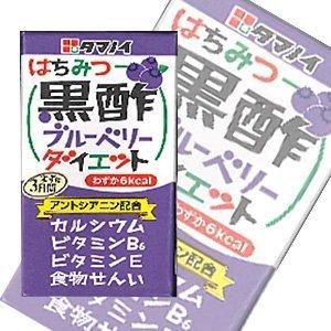 タマノイ はちみつ黒酢ブルーベリーダイエット 125ml紙パック×24本入×(2ケース)