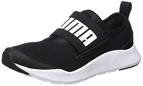 PUMA Wired Slipon, Zapatillas Unisex Adulto, Negro Black White, 43 EU