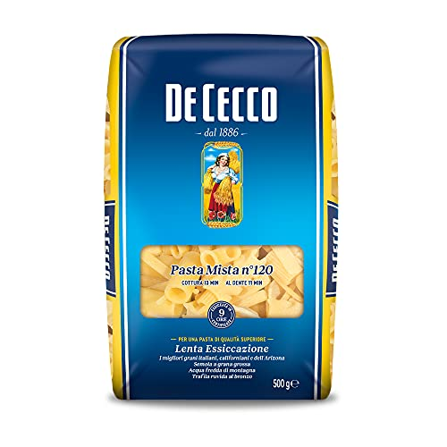 De Cecco - Pasta mista, di Semola di Grano Duro - 6 pezzi da 500 g [3 kg]