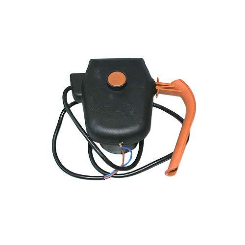ATIKA Ersatzteil | Schalter-Stecker-Kombination (VDE) für Vertikutierer VT 32