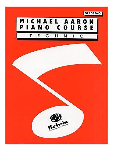Michael Aaron Piano Cursus: Technic Grade Twee. Bladmuziek voor Piano Solo