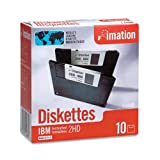 Imation - 3-1/2' Diskettes, Formatted, PC Format, 1.44MB, DS-HD