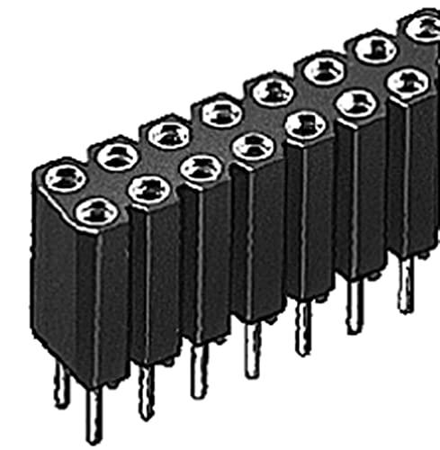 Fischer Elektronik Listones hembra BL 6/06/Z (10 unidades)