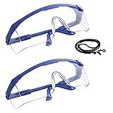Gafas de trabajo y seguridad antipolvo, antisalpicaduras y antivaho | Gafas de proteccion...