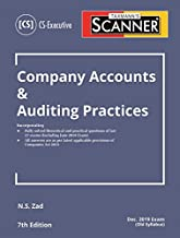 Scanner-Company Accounts & Auditing Practices (CS -Executive) (December 2019 Exam-Old Syllabus) (7th Edition June 2019)