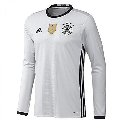 adidas DFB H JSY L - Camiseta para Hombre, Color Blanco/Negro, Talla 3XL