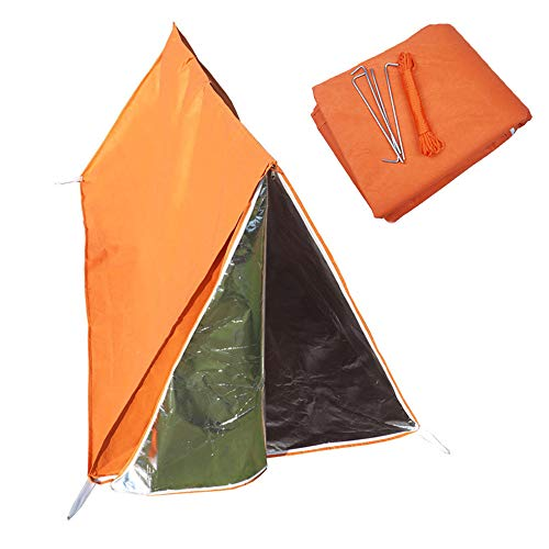 Life Tent Emergency Survival Shelter, Survival Slaapzak Emergency, Gebruik Als Survival Tent, noodopvang, Tube Tent, Survival Tarp