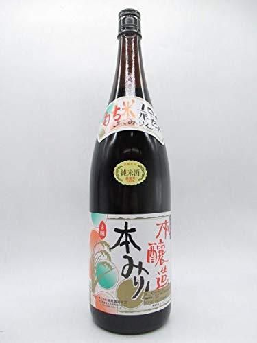 妹尾酒造本店 純米本みりん 十年熟成 黒 12度 1800ml ■飲んでもおいしい